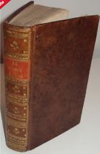 Klopstock Le Messie, Poème en dix chants, traduit de l'allemand - 1769