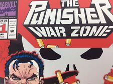 PUNISHER WAR ZONE #1 Punisher 2099 #1 Marvel