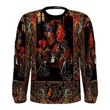 Four Evangelists Long Sleeve T-Shirt 15 Century Bible painting Christian art