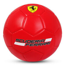 Ferrari Size 3 Machine Sewn Soccer Ball - Red