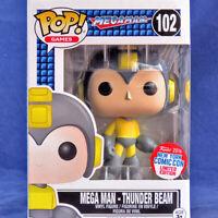 Funko Pop! Vinyl Games Sega Mega Man #102 Thunder Beam NYCC 2016 Exclusive