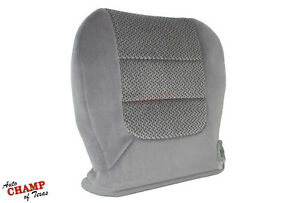 2003 Ford F-150 XLT Super-Crew-Cab F150-Driver Side Bottom Cloth Seat Cover Gray