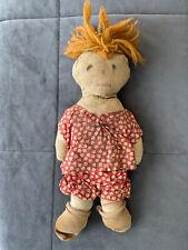 Very Primitive Antique Handmade Rag Doll