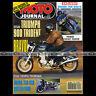 MOTO JOURNAL N°1023 SUZUKI GSXR 750 TRIUMPH 900 TRIDENT BRITTEN HONDA NSR 250 92