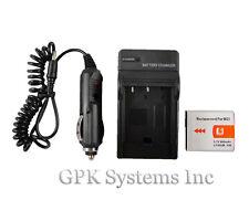 Sony Cyber-shot DSC-H9 DSC-H10 Digital Camera NP-BG1 BG1 FG1 Battery + Charger
