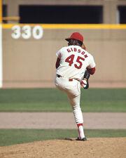 St Louis Cardinals Pitcher BOB GIBSON Glossy 8x10 Photo Baseball Print Poster