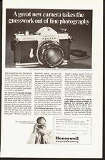 1950's Vintage ad for New Honeywell Pentax Spotmatic camera (051313)