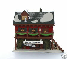 Santa's Woodworks #56286 Department 56 North Pole Collectible