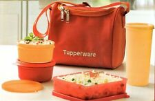 Tupperware Lunch Box Kit  (Set of 2 Bowl , Square, Tumbler ,  Lunch Bag)