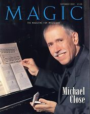 Michael Close Magic the Magazine for Magicians September 2002