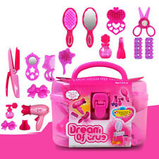 Kid Beauty Salon Toys Beauty set with Hairdryer Comb Perfume Bottle Lipstick hot