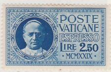 Vatican City Special Delivery 1929 2,50 Fine MH* A13P39F56