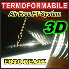 Pellicola carbonio 3D wrapping carbon look antigraffio tuning auto moto