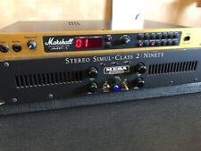 Rack a válvulas y bafle para guitarra. Todo a válvula Marshall y Mesa Boogie!