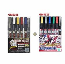 GSI Creos Gundam Marker Basic Set GMS105 metallic marker set GMS121 -value set