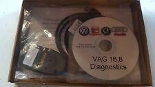 VAG COM 16.8.0 HEX+CAN USB Cable For Audi Seat Skoda Volkswagen Diagnostics VCDS