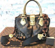 Louis Vuitton Limited Stephen Spouse Leopard Adel Monogram Handbag M95284