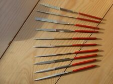 SET OF 10 DIFFERENT LUTHIER NUT FILES ETC, NICE QUALITY, NEW, U.K. SELLER!!
