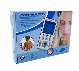 TENS/EMS-Gerät Ten 250 digital Massagegerät Tensgerät Emsgerät Elektrotherapie