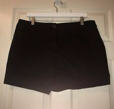 Worthington Women's Size 14 Dress Shorts, Modern Fit, Black.