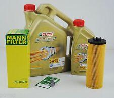 6 Liter Castrol EDGE 5W-30 Longlife MANN Ölfilter VW Audi A4 A6 Passat 2,5TDI