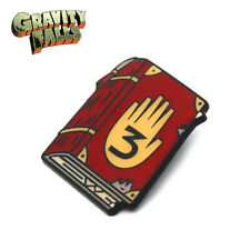 alloy badge Chest pin for backpack Gravity Falls Journal Number 3 Zinc