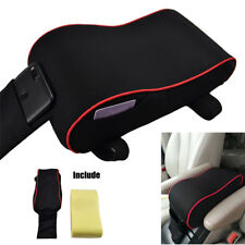 Car Center Console Armrest Pad Arm Rest Protective Case w Phone Card Storage Bag