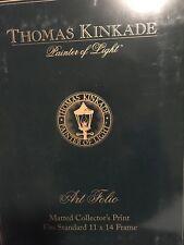 """THOMAS KINKADE """"PAINTERS LIGHT"""". ART FOLIO"""