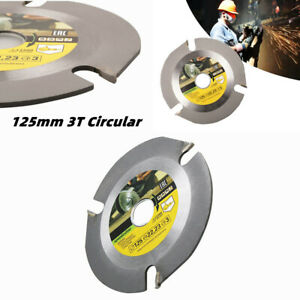 125mm 3T Circular Wood Carving Cutting Disc Saw Blade Grinder Carbide Multitool