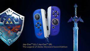 The Legend of Zelda The Skyward Sword Limited Edition Joy cons