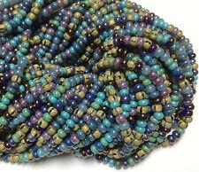 #CSD087 10 Gm, 1//2 Kilo 8//0 Mahogany Stripe Czech Seed Bead