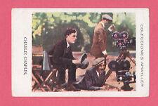 Charlie Chaplin Vintage 1920s Silent Film Star Spanish Chocolate Card