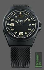 Traser H3 Traser P59 Essential M Black Nato Herrenuhr 108206 Analog  Edelstahl S