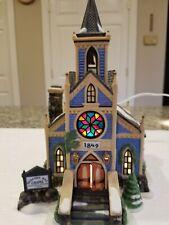 Dept 56 New England Village Deacon'S Way Chapel #56604 Excellent