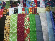 Fabric fat quarter bundle  10 FQ  2 1/2 yards random pic grab bag stash builder