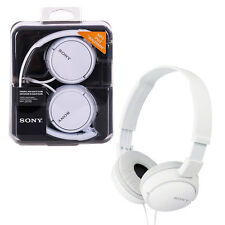 Sony MDR-ZX110 Overhead Headphones - White NEW