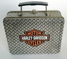 HARLEY-DAVIDSON TIN LUNCH BOX
