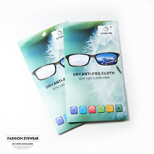 WISHS Dry Anti-Fog Reusable Cloth  for Glasses, Goggles