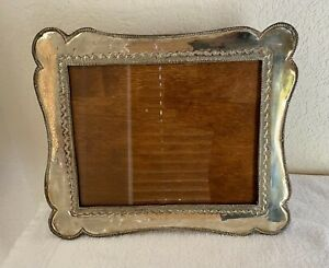 """Beautiful Vintage Silver Photo Picture Frame 12.5 """"x 10.25"""" inches"""