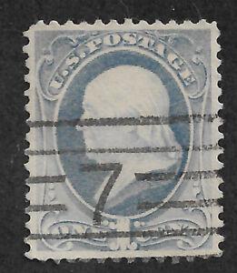 US #206 (1881) Benjamin Franklin 1c - Used - XF/S