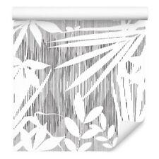 10m VLIES TAPETE Rolle Exotische Pflanzen Blätter Stengel Natur Flora XXL 1432
