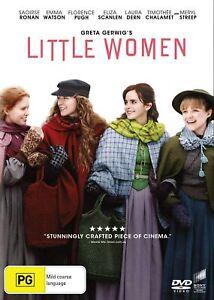 Little Women (2019) DVD, NEW SEALED AUSTRALIAN RELEASE REGION 4 lot 61
