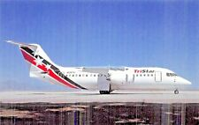 Tristar Airlines BAe 146-200 British Aerospace regional jets  Airplane Postcard