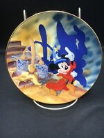 Mickey's Fantasia 1940-1990 Walt Disney 6 1/2 Inch Collector Plate ~