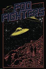 FOO FIGHTERS - UFO POSTER 24x36 - MUSIC 0763