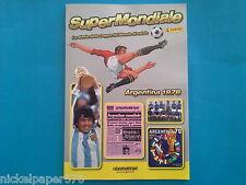 SUPERMONDIALE PANINI WORLD CUP MEXICO 1986 GAZZETTA DELLO SPORT