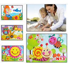 3D DIY EVA Crafts Foam Puzzle Stickers for Toy Art Gift  Kids Pattern Random WCL