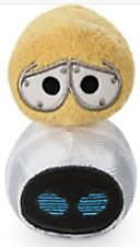 """Disney Store WALLE and EVE Tsum Tsum Plush Best Of Pixar Collection Mini 3.5"""""""