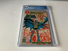BRAVE AND THE BOLD 150 CGC 9.6 BATMAN SUPERMAN DC COMICS 1979
