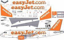 easy Jet Airbus A-319 decals for Revell 1/144 kit